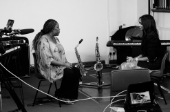 Cafemnee Marjorie Interview 2 bw BBC1 Songs Of Praise
