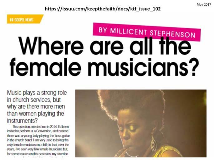 Millicent Stephenson Keep The Faith Issue 102 Sample