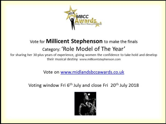 Vote For Millicent Stephenson v3