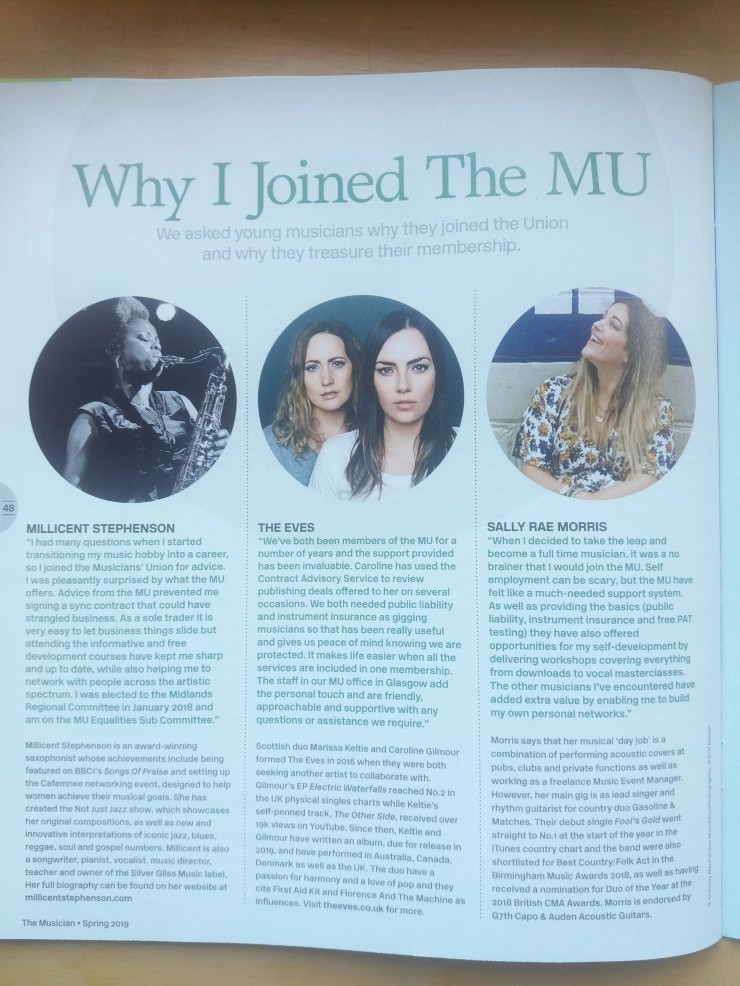 Why I Joined the MU by Millicent Stephenson