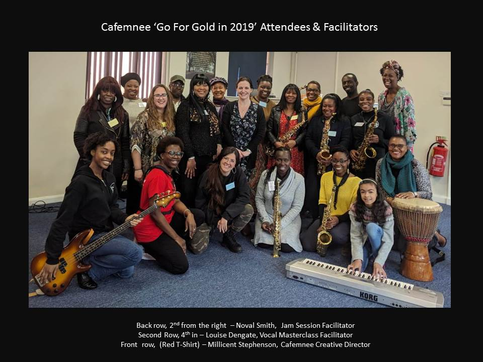 Cafemnee Go For Gold 2019 Attendees and Facilitators
